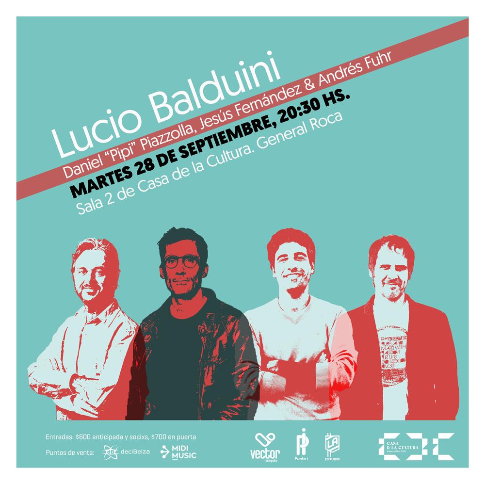 Lucio Balduini en la CDC