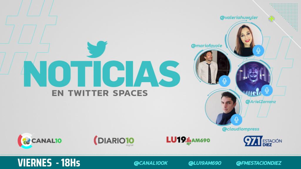Twitter Spaces de RTRN