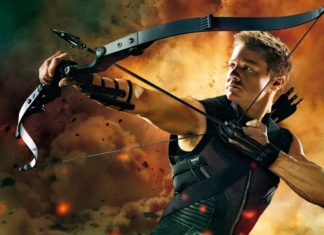 Jeremy Renner como Hawkeye